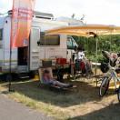 Florian Weiss Fahrerlager ADAC Mini Bike Cup Templin