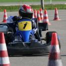 Florian Weiß - Raceflo - Einstieg des 7-Jährigen beim Kartslalom-Training