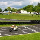 Florian Weiß - Raceflo - mit seinem Motorrad auf dem Weg ins Ziel