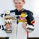 Florian Weiß - Raceflo - nach dem Motorrad-Rennen auf dem Podest