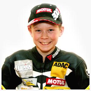 Florian Weiß Fahrer beim ADAC Mini Bike Cup