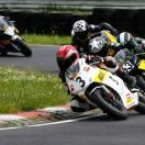 Florian Weiß - Raceflo - mit dem Motorrad in Führung beim Rennen