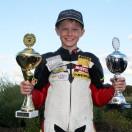 Florian Weiß- Raceflo - mit Doppelsieg in Schlüsselfeld beim ADAC Mini Bike Cup 2015