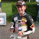 Florian Weiß erfolgreich beim Mini Bike Rennen in Templin