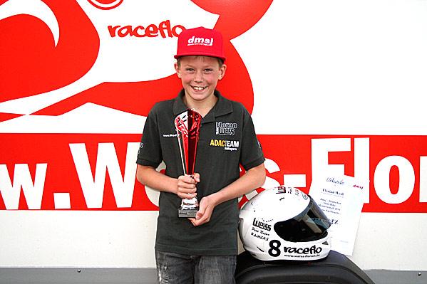 Florian Weiß Dritter in der deutschen Meisterschaft 2017 - Nachwuchsklasse
