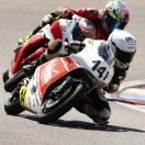 Florian Weiss - Raceflo - beim Moto 3 Training auf dem Eurospeedway Lausitzring