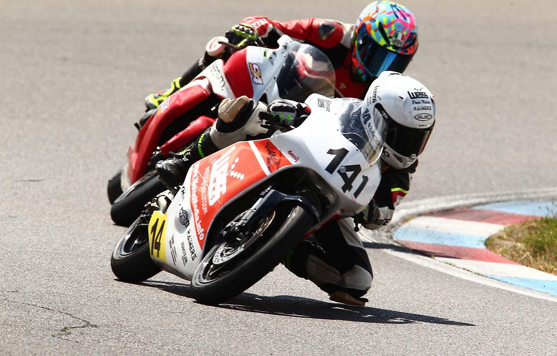 Raceflo Florian Weiß mit der Moto 3 auf dem Eurospeedway Lausitzring