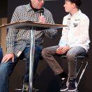 Florian Weiss Interview-Partner auf der Motorradwelt Bodensee