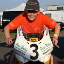 Florian Weiß - Raceflo - auf seinem Motorrad beim ADAC Mini Bike Cup Oschersleben 2015