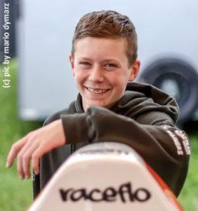Florian Weiss, genannt Raceflo, deutscher Rennfahrer
