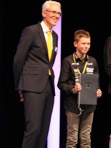 ADAC Auszeichnung für Florian Weiß | Raceflo - deutscher Motorrad Rennfahrer
