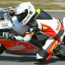 Florian Weiss - Raceflo - testet Moto3 in Rijeka
