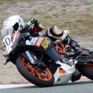 Florian Weiss - Raceflo - beim Motorrad-Training in Spanien