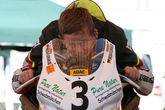 Florian Weiß - Raceflo - ist Deutscher Vizemeister Mini Bike Einsteiger 2015