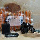 Ölpumpe für Motorsäge STIHL 009 010 011 012 vor der Instandsetzung mit Neuteilen: Ölpumpen-Membran, Dichtungen und Ölfilter