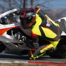 Raceflo Florian Weiss mit Yamaha R6 beim Renntraining in Rijeka