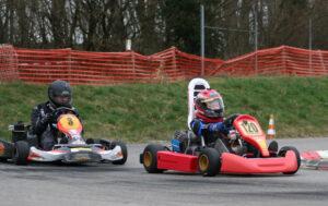 Raceflo Florian Weiss - erfolgreicher Kartslalom - Fahrer