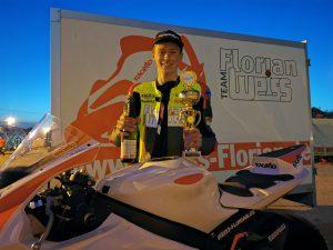 erfolgreicher Trainingsauftakt für Florian Weiß: Raceflo Florian Weiss in Rijeka